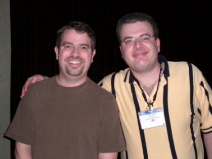 Matt Cutts & Todd Mintz at Pubcon